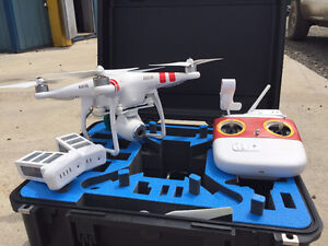 Phantom 2 Vision w/Case and Extra Batteries London Ontario image 1