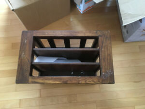 Wooden Magazine Rack for Sale