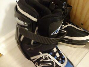 K2 Merlin Ice Boy's Adjustable Ice Skates - Size 6-8 West Island Greater Montréal image 2