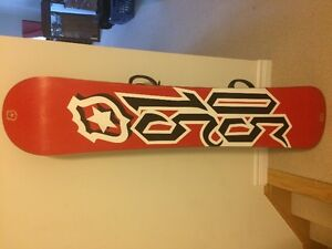 5150 Snowboard with Thermo Advanced Bindings