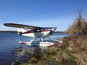Stinson 108-3 Float Plane Located in Ontario