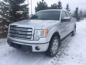 2013 F-150  Lariat Eco-Boost  SuperCrew