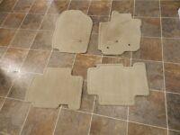 Set of 2010 Rav4 floor mats