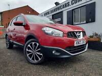 NISSAN QASHQAI N-TEC PLUS DCI Red Manual Diesel, 2013
