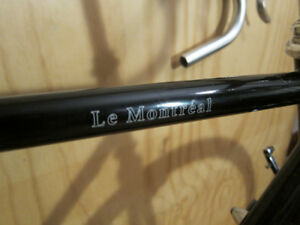 Bassi Le Montreal 55cm (57 top tube) Touring Frame set