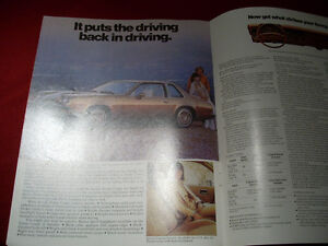 1977 Chevy  Monza sales brochure Peterborough Peterborough Area image 4