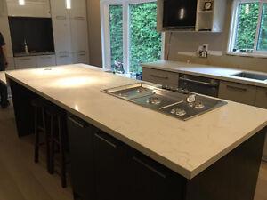 Granite~Quartz Countertop $35/sf with 100%satification guarantee