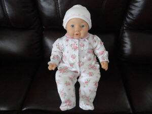 Soft Body Baby Doll – Looks Like a Real Baby