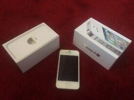 Apple IPhone 4S White - Spares or Repair