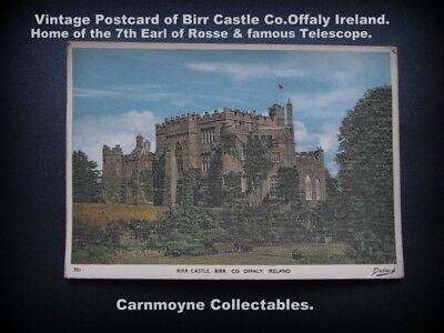 Vintage Postcard of Birr Castle Co.Offaly Ireland. c1964.AH6120.