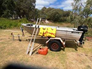 Savage Gull Aluminiun dinghy Quindalup Busselton Area Preview