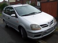 Nissan Almera TINO Mpv, Nice Bright Car, NEW TEST - only £625 One Owner