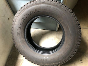 ***GENERAL AMERITRAC TR 235/80 R17 E Rated Tires (6)