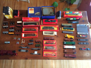 Triang Tri-ang Hornby Dublo O gauge trains - large collection