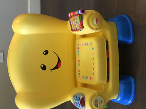 Fisher Price smart stages song chair