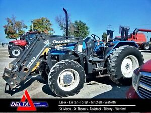 2002 New Holland TL80 Tractor London Ontario image 1