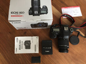 Canon 80D with EF-S 18-55 IS STM, Tamron 16-300 and Canon 50 1.8