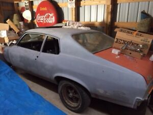 1974 GTO Project with parts