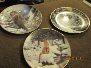 Numbered Wildlife Collector Plates Peterborough Peterborough Area image 3