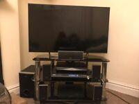 "Sony Bravia 42"" smart tv with cinema surround sound DVD player"