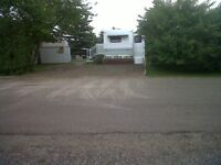 Trailer and lot Rental available at Carefree Resort