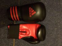 Adidas boxing gloves
