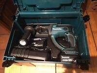 New Makita DHR202 DHR202RMJ 18v Hammer sds drill li-ion makpak