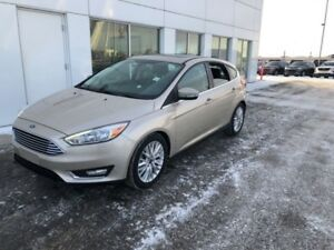 2018 Ford Focus Titanium  - Leather Seats -  Bluetooth