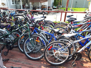 Bikes For Sale.  Prices start at $30.00 & go up.