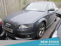2010 AUDI A4 2.0 TDI 143 S Line 4dr 8 Speed Multitronic