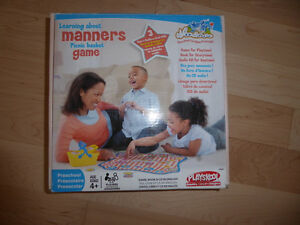 Playskool Picnic basket game (learning about manners)