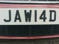 JAW14D (PRIVATE NUMBER PLATE)