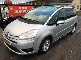 2007 CITROEN PICASSO VTR+ HDI AUTOMATIC, SERVICE HISTORY, NOT ZAFIRA TOURAN VOYAGER