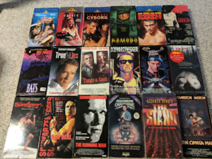 VHS Movies for Sale - All together for $30 only