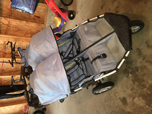 City X3 Tike Tech Double Stroller