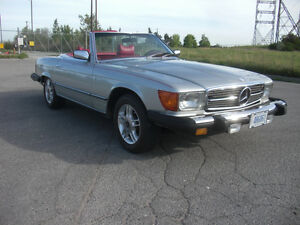 1978 Mercedes 450 SL Convertible Southern US Car
