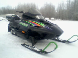 THUNDER CAT $3000.FIRM./.TRADE FOR YAMAHA APEX.CALL.780.240-9380