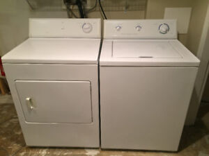 Heavy Duty Frigidaire Washer & Dryer