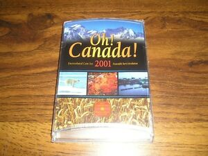 2001 OH! CANADA! UNCIRCULATED SEALED 7-PIECE COIN SET