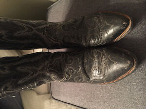 Genuine goat leather cowboy boots London Ontario image 2