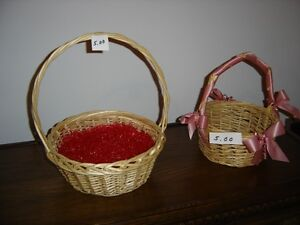 Wicker baskets (2)