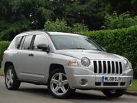2008 Jeep Compass 2.4 AUTOMATIC CVT Limited***LONG MOT + LOW MILES***