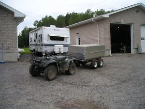 For Sale ATV Tent Trailer