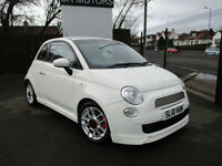 2010 Fiat 500 1.4 SPORT(LOT OF EXTRAS,LOW MILES,HISTORY)