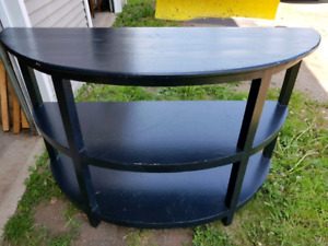 Large Half Moon Table MUST GO ASAP