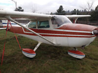 Cessna 172 Airplane trade for building lot