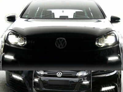 For Vw Golf 6 with Halogen Original Kufatec Cable Adapter LED R Daylight Lamps