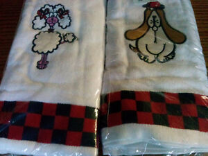 PUPPY HAND TOWELS