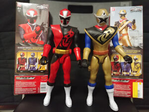 Collection Power Ranger (comme neufs) 125$