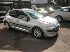2007/56 Peugeot 207 1.4 16v 90 ( a/c ) S 5dr ONLY 49531 MILES F/S/H NOW £2595